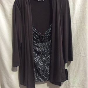 One piece blouse set. NWT